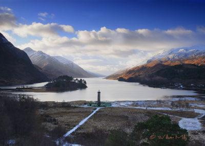 Glenfinnian-Monument---Winter