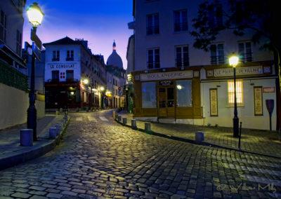 Landscape-Pre-Dawn-Montmartre